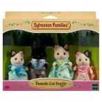 Tuxedo Cat Family - Sylvanian Families