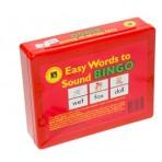 Easy Words To Sound Bingo